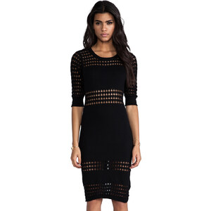 Style Stalker Holed Out Dress in Black