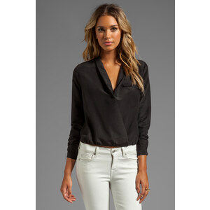 Lovers + Friends Get Down Blouse in Black