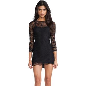 keepsake Love Magic Long Sleeve Dress in Black