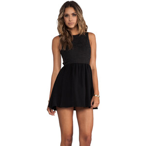 keepsake I'm His Girl Dress in Black