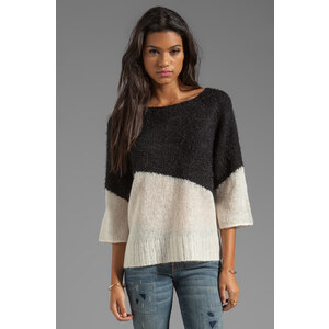 Ella Moss Ruby Sweater in Black
