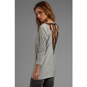 WOODLEIGH Alice Top in Gray