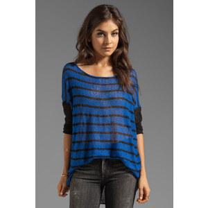 Tylie Stripe Sweater in Blue