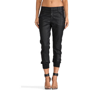 7 For All Mankind Sportif Chino in Black