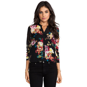 MM Couture by Miss Me Button Down Top in Black