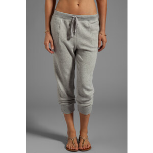 Wilt Vintage French Terry Slouchy Sweatpant in Gray
