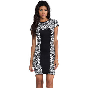 BCBGMAXAZRIA Fabiana Dress in Black
