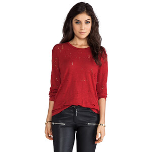 IRO Marvina Top in Red