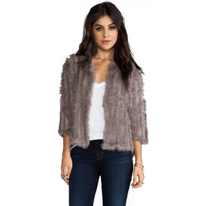 heartLoom Rosa Jacket in Taupe