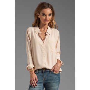 Soft Joie Annabella Button Up in Peach