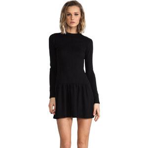 BY ZOE Cala Drop Waist Dress in Black