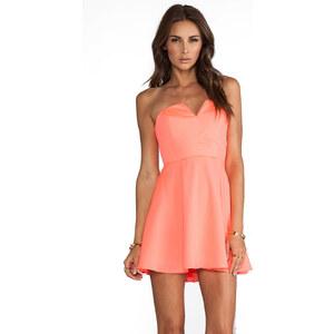 Naven Bombshell Circle Dress in Orange