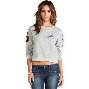 Junk Food Prep School Sweatshirt in Gray