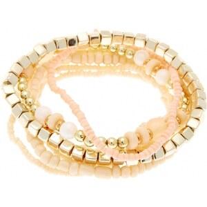 Kiabi Lot de 7 bracelets élastiques en perles