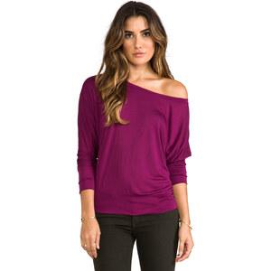 Lanston Boyfriend Sweatshirt in Wine