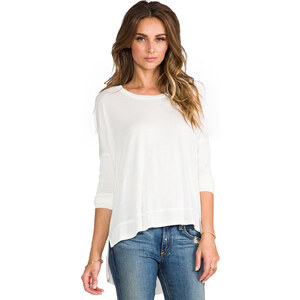 Bobi Long Sleeve Dolman in Ivory