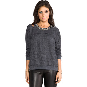 heartLoom Clara Sweatshirt in Charcoal