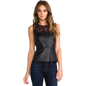 Trina Turk Clea Top in Black