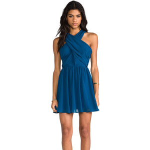 keepsake Heartlines Dress in Blue