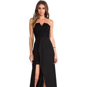 keepsake First Date Maxi Dress in Black