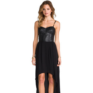 BCBGMAXAZRIA Leandra Dress in Black