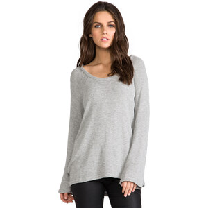 Michael Lauren Gabe Knit Pullover in Gray