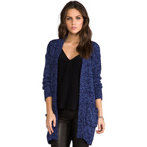 Ladakh Animal Instinct Cardigan in Navy