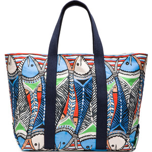 Pia Pauro Big Fish Bag in Baby Blue