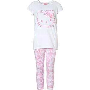 Pyjama legging mi-long imprimé 'Hello Kitty'