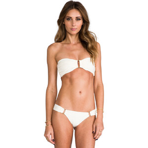 BOYS + ARROWS Olivia the Outlaw Bandeau Top in Cream