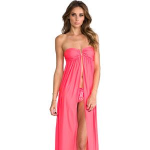 b.swim Vendetta Dress in Coral