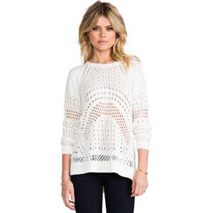 BCBGMAXAZRIA Jaycee Sweater in White