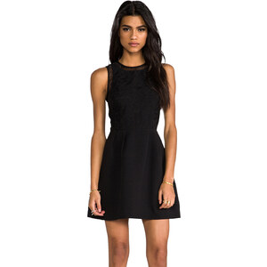 keepsake Cold Desert Dress in Black