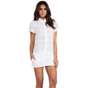 L'AMERICA Swedish Clover Boxy Dress in White