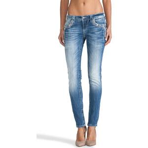 Miss Me Jeans Skinny in MED 195
