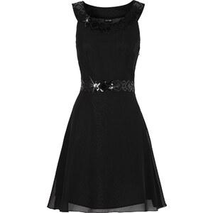 BODYFLIRT Abendkleid in schwarz (Rundhals) von bonprix