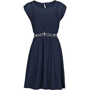 BODYFLIRT Kleid/Sommerkleid kurzer Arm in blau (Rundhals) von bonprix