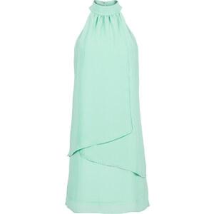 BODYFLIRT Kleid ohne Ärmel in blau von bonprix