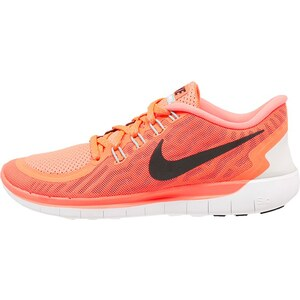 Nike Performance FREE 5.0 Sneaker hot lava/black/lava glow/bright crimson