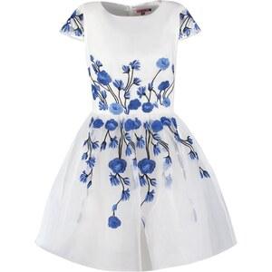 Chi Chi London Cocktailkleid / festliches Kleid whiteblue