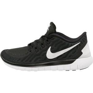 Nike Performance FREE 5.0 Laufschuh Natural running black/white/dark grey/dove grey
