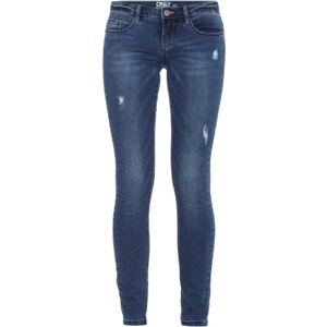 ONLY Skinny Fit Jeans im Used Look