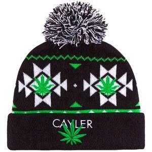 Cayler amp; sons Bonnet Bonnet Pom Pom Noir/Blanc/Vert