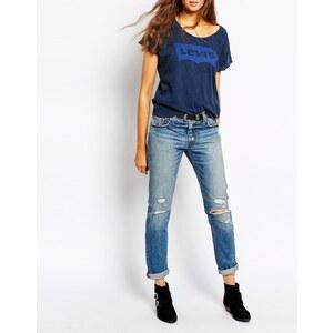 Levis Levi's - 501 - Boyfriend-Jeans in Vintage-Waschung - Precita