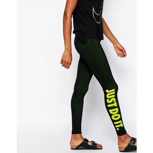 Nike - Just Do It - Leggings - Schwarz