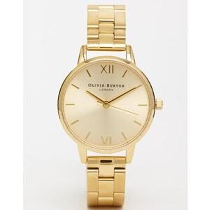 Olivia Burton - Uhr mit mittelgroßem Zifferblatt in Gold - Gold