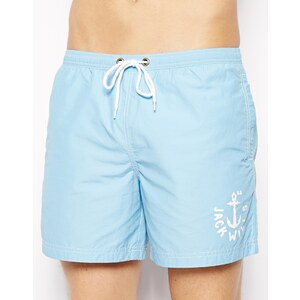 Jack Wills Plain Swim Shorts Sky Blue