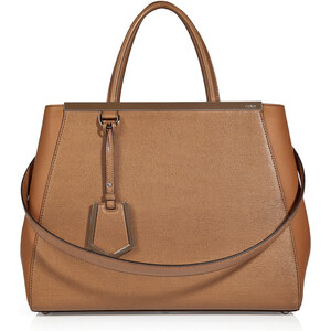 Fendi Small 2Jours Leather Satchel