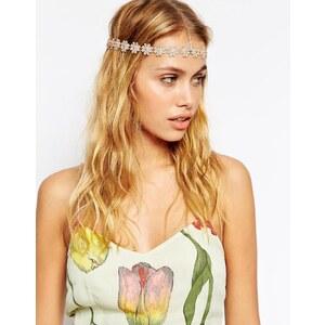 ASOS - Haarschmuck mit Gänseblümchen - Gold