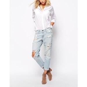 Abercrombie & Fitch - Weiche, lässig geschnittene Boyfriend-Jeans